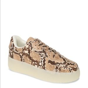 NEW • Jeffrey Campbell • Court Platform Sneaker
